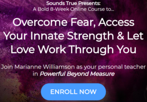 Powerful Beyond Measure online course Marianne Williamson