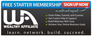 Wealthy Affiliate Affiliate Marketing Success