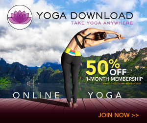 Yoga Download 50% off