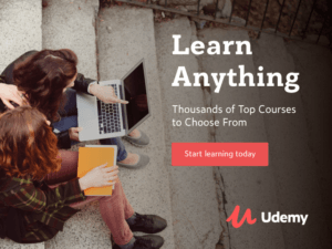 Udemy learn anything today