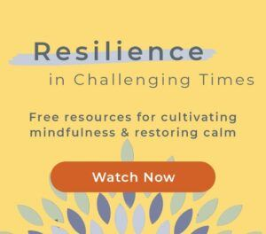 Resilience in Challenging Times Free Mindfulness and creating calm