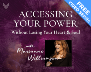 Powerful beyond measure accessing your power with marianne williamson