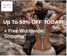Free Spirit Shop 50% off