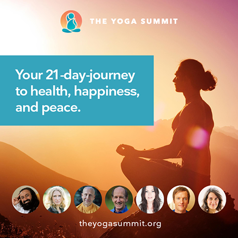 The Yoga Summit, Your 21 day journey to health, happiness and peace