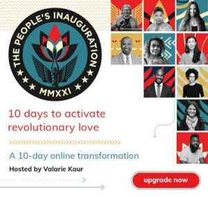 The People's Inauguration 10 days t acivate revolutionary love